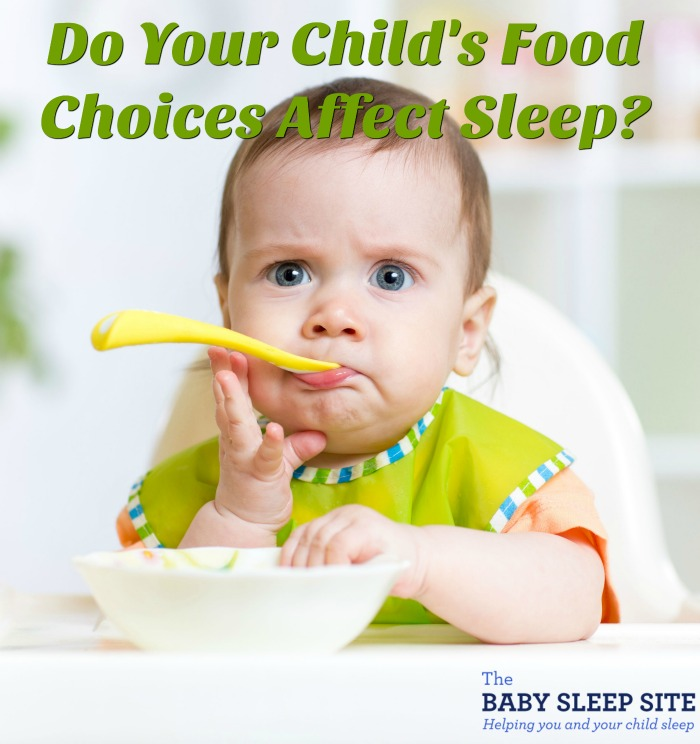Do Your Child's Food Choices Affect Sleep?