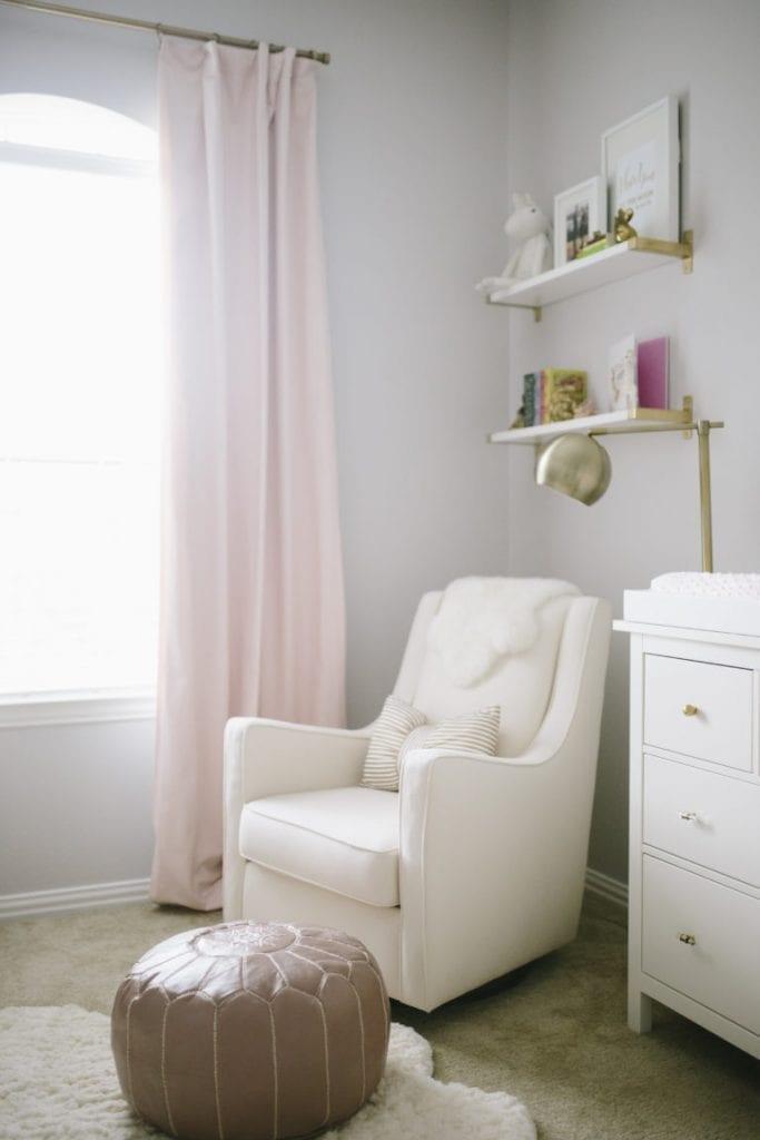Pink and Gray Nursery