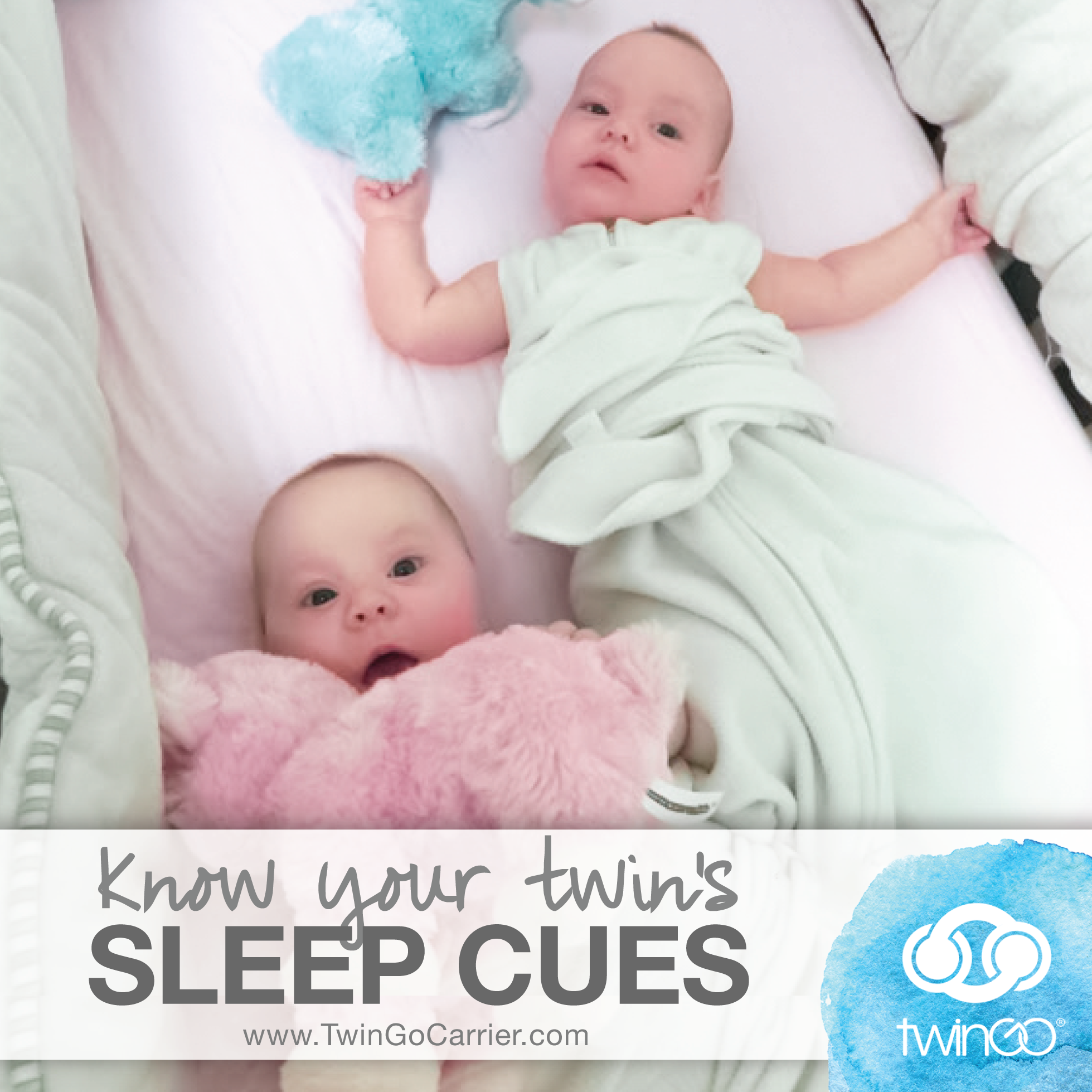Top Tip for Twin Sleep: Know Their Sleep Cues