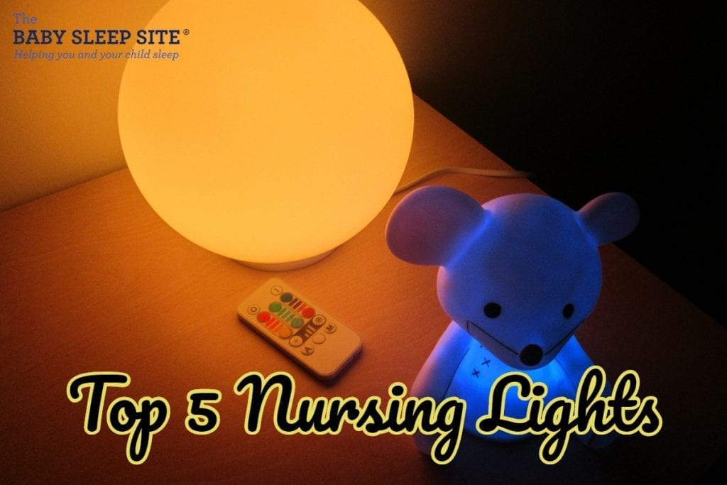 top 5 nursing night lights the baby sleep site baby toddler sleep consultants. Black Bedroom Furniture Sets. Home Design Ideas