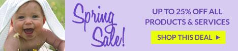 Spring Sale 2018