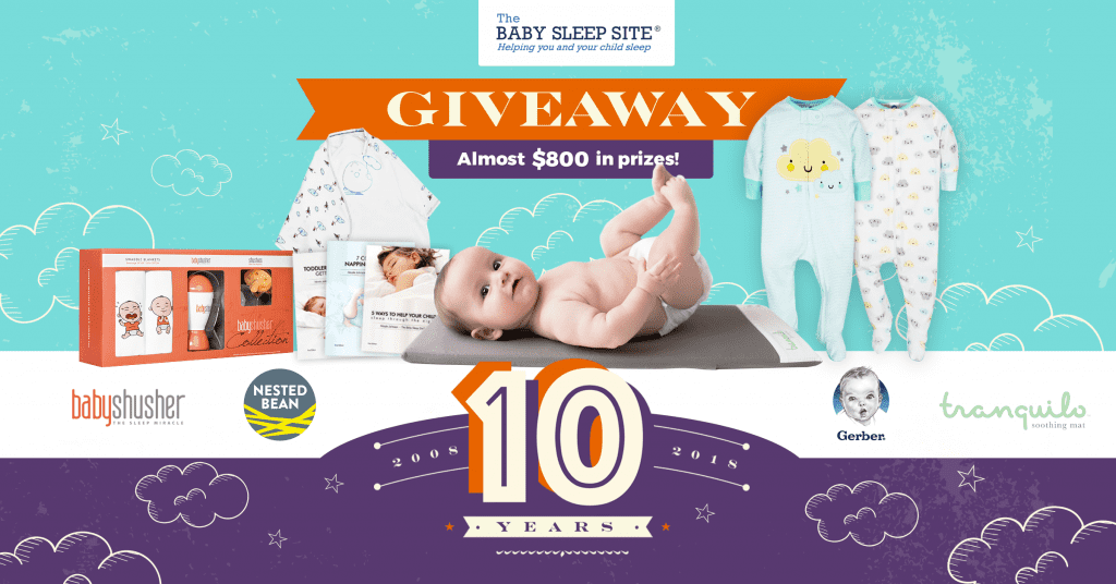 Baby Sleep Site 10 Year Anniversary Giveaway