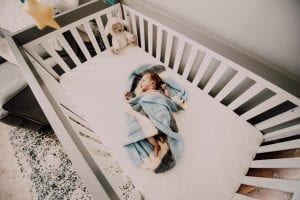 Protect your baby by not placing pillows, comforters and toys in the crib