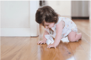 The moment your children start crawling they start discovering the world