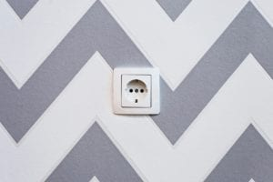 One way of baby proofing your home is putting safety cover on electrical outlets