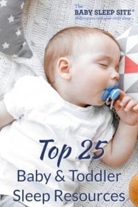 Top 25 Baby Toddler Sleep Resources