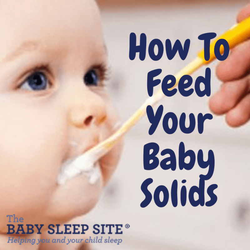 How To Feed Your Baby Solids