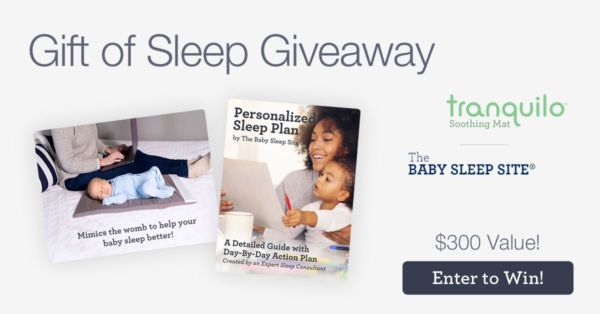 Gift of Sleep Giveaway – Tranquilo Mat and The Baby Sleep Site Sleep Consultant Will Get Your Baby Sleeping in No Time!