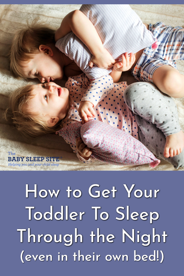 How To Get Toddler to Sleep to Sleep through Night