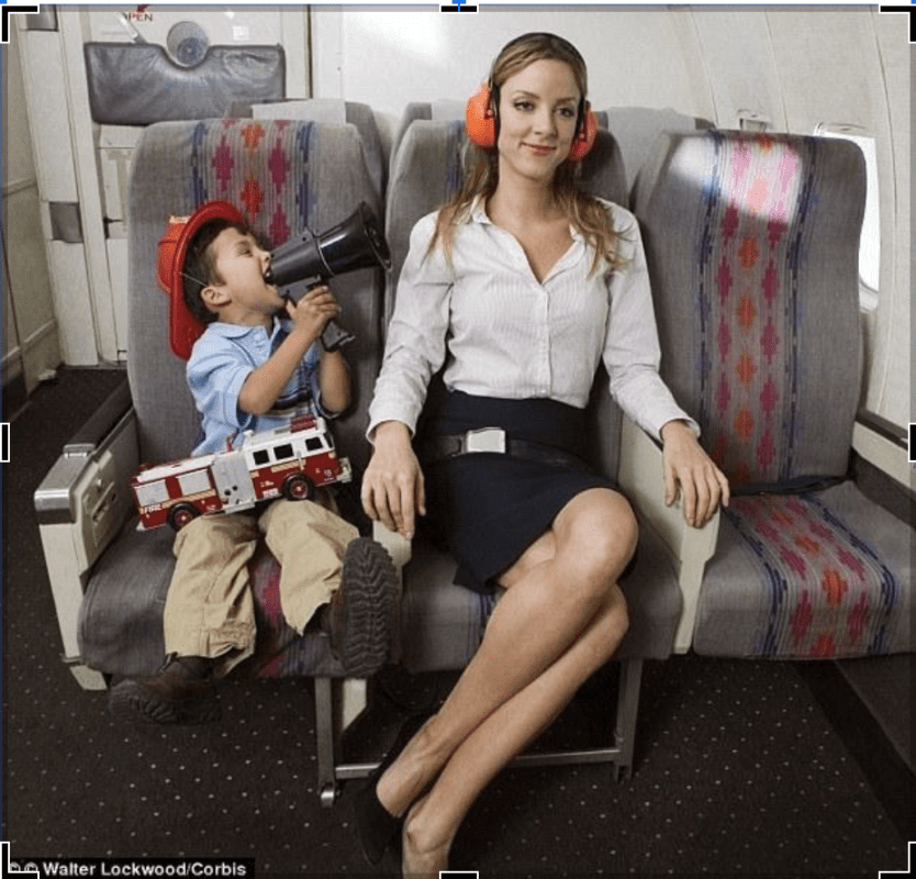 Surviving Long-Distance Flying with Children