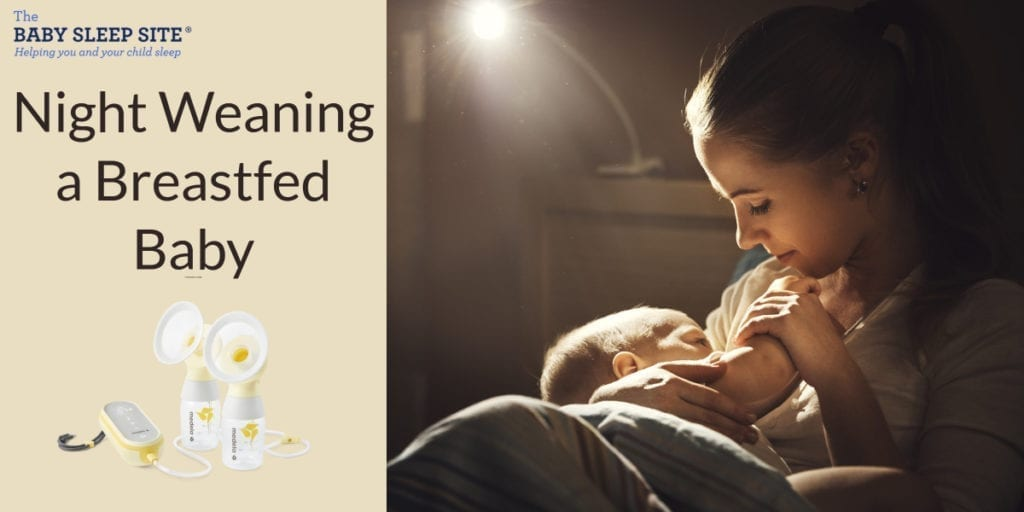 Night Weaning a Breastfeeding Baby and How to Maintain Milk Supply